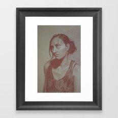 Melissa Framed Art Print