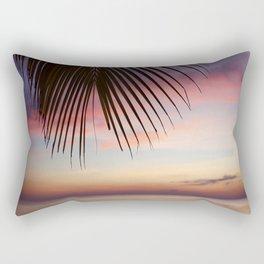 Paradise Palm Sunset Rectangular Pillow