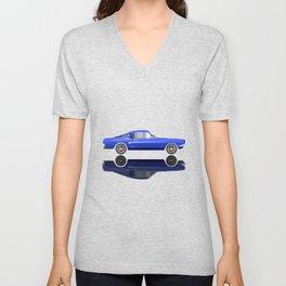 Very Fast Car Unisex V-Neck