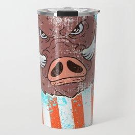 Boar Hunting Travel Mug