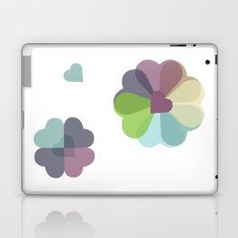 Heartflowers1 Laptop & iPad Skin