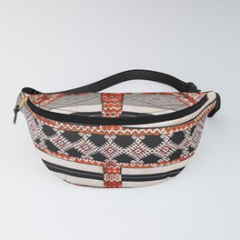 Ait Ouaouzguite South Morocco North African Rug Print Fanny Pack