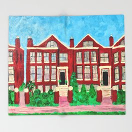 Sweet Home Chicago Throw Blanket