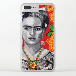 FRIDA KAHO MI FRIDA Clear iPhone Case