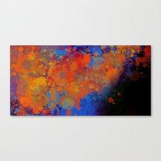 Blue Invasion  Canvas Print