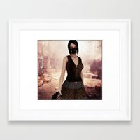 apocalypse now Framed Art Prints featuring Apocalypse Now by miz-inthesky