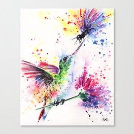 Spring romance Canvas Print