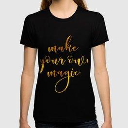 Make your own magic T-shirt