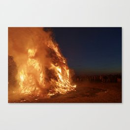 Easter fire - the winter is over (2) Canvas Print