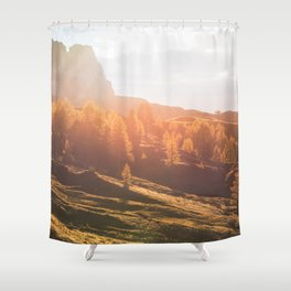 Dolomites 22 - Italy Shower Curtain