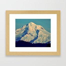 MT. HOOD - AT TWILIGHT Framed Art Print