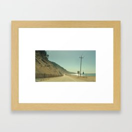 Cabrillo Hwy Framed Art Print