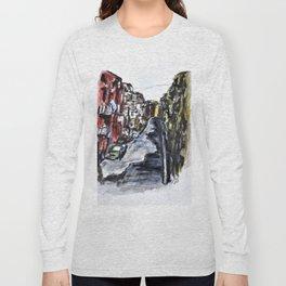 Naples City Street Long Sleeve T-shirt