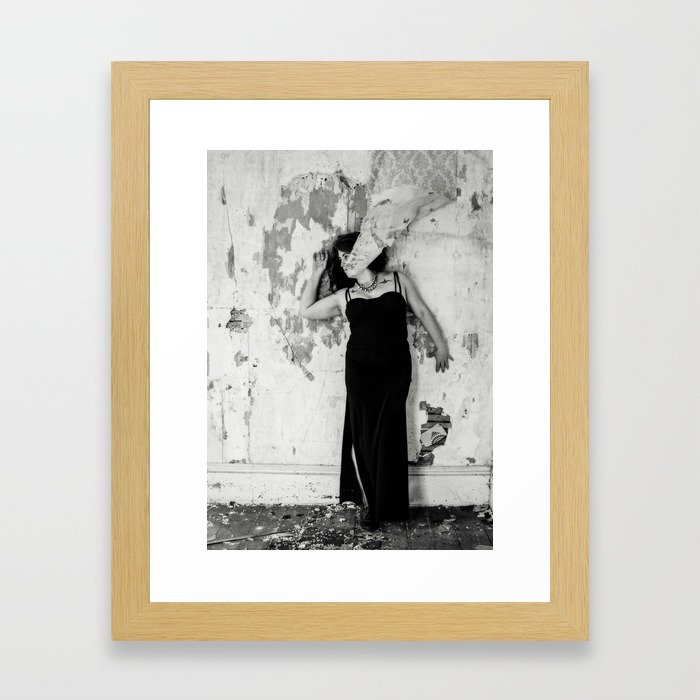 Blending in.. Framed Art Print