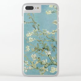 Almond Blossom Clear iPhone Case