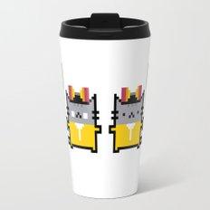 Breaking Cat Travel Mug