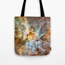 Carina Nebula, Star Birth in the Extreme - High Quality Image Tote Bag