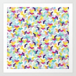 Shanti Sparrow: Cubrickian Art Print