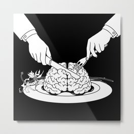 Fear Eats the Soul Metal Print