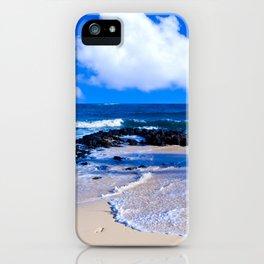 Hawaiian beach2 iPhone Case