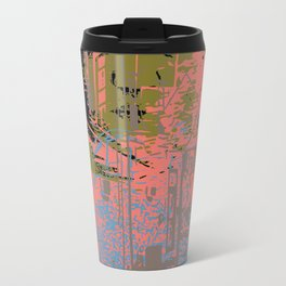 As I walk through the valley of the shadow of death Travel Mug