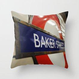 Baker Street Station Throw Pillow