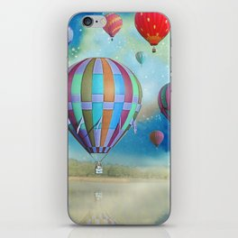 Balloons over the Swamp iPhone Skin