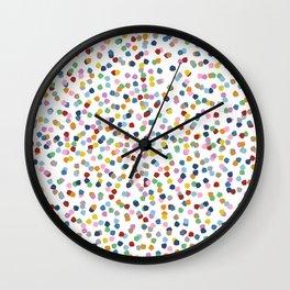 Blossom Petals II Wall Clock