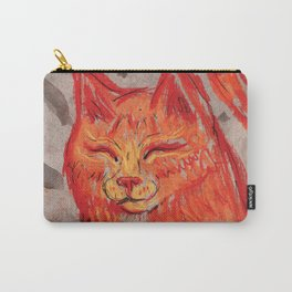 Tangerine Bowie Carry-All Pouch