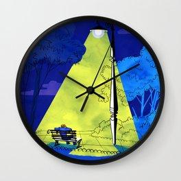 Under The Streetlight Wall Clock