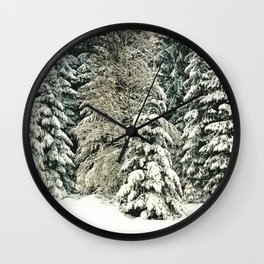 Warm Inside Wall Clock