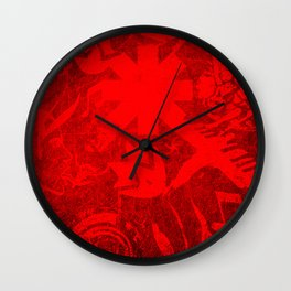 Chili Covers Wall Clock