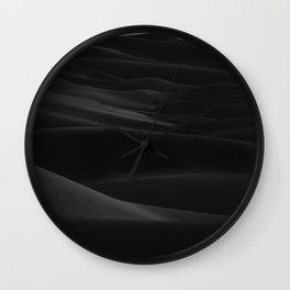 Desert Dunes Photography Wall Clock