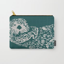 The handsome sea otter Carry-All Pouch