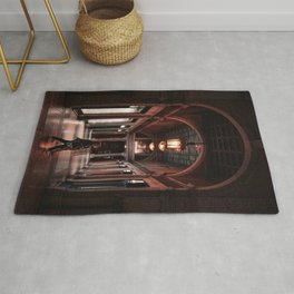 night architecture Rug