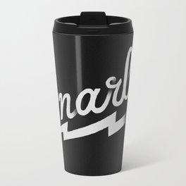 Gnarly Metal Travel Mug