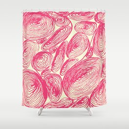 Inkshells I Shower Curtain