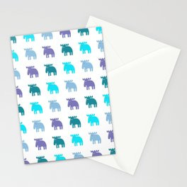 Scandinavian love Stationery Cards