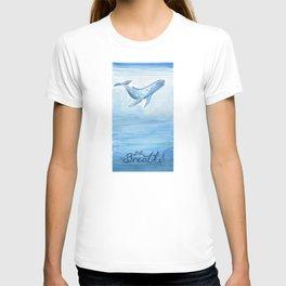 Whale - Take a deep breath T-shirt