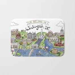 Washington DC Bath Mat