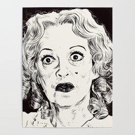 Bette Davis/Baby Jane Poster