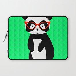 shocked panda Laptop Sleeve