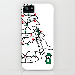 Gnome for the Holidays iPhone Case