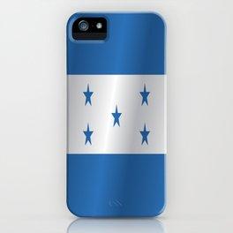 Flag of Honduras iPhone Case