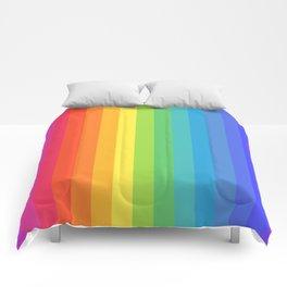 Solid Rainbow Comforters