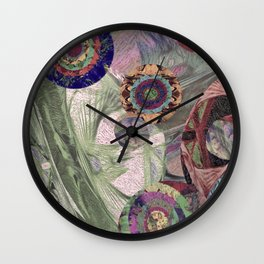 Comfort and Awe Wall Clock