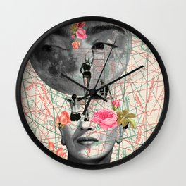 my muse (Frida Kahlo) Wall Clock