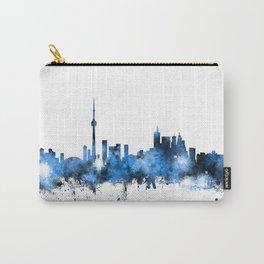 Toronto Canada Skyline Carry-All Pouch