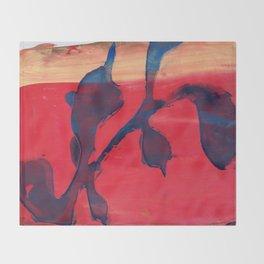 Matisse meets Rothko Throw Blanket