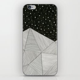 Stripe Mountains iPhone Skin